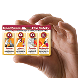 RACE/PASS Fire Safety Badgie™ Card (25 Cards per Pack)